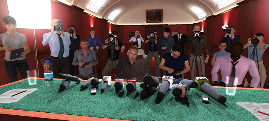 VR Press Conference